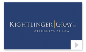 Kightlinger Attorneys at Law Corporate Website Announcement Thumbnail