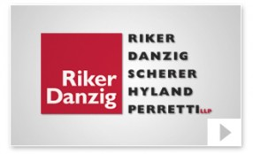 riker danzig LLP Company Video Presentation thumbnail