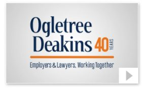 Ogletree Deakins 40th Anniversary Company Video Thumbnail