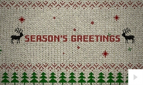 Holiday Sweater holiday ecard thumbnail