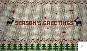 Holiday Sweater holiday ecard thumbnail