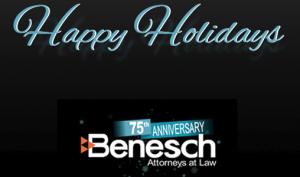 Benesch Happt Holidays logo
