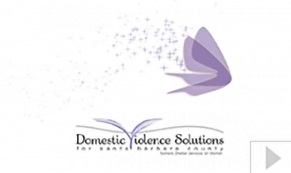Domestic Violence custom corporate holiday business ecard