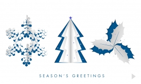 Pop-Up Greetings corporate holiday business ecard