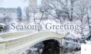Winter is Coming bridge Holiday e-card thumbnail