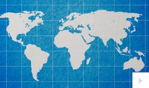 World Map Greetings Holiday e-card thumbnail