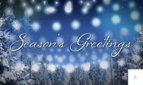 Luminious corporate holiday ecard thumbnail