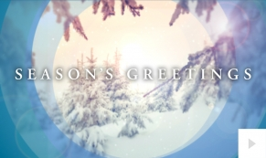 Snowy Moments of Light Holiday e-card thumbnail