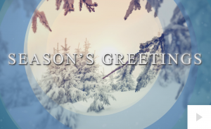 Snowy Moments of Light Holiday e-card thumbnail
