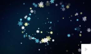 snowflake symphony corporate holiday ecard thumbnail