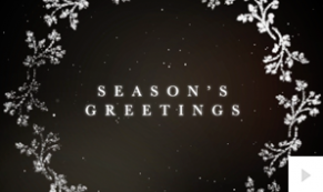 shimmering wishes corporate holiday ecard thumbnail