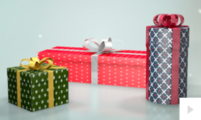 Gifts for you Christams e-card thumbnail