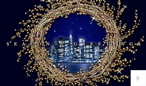 wreath view holiday e-card thumbnail