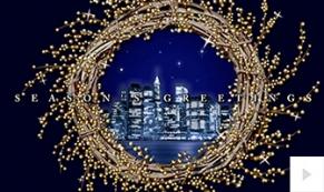 wreath view holiday e-card thumbnail