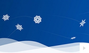 Winters arrival holiday ecard thumbnail