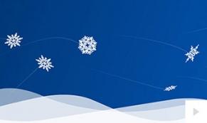 Winters arrival holiday ecard thumbnail