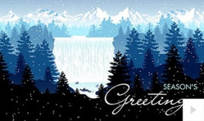 Nature's Grandeur holiday e-card thumbnail