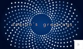 Incandescence holiday e-card thumbnail