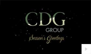cdg group company holiday e-card thumbnail