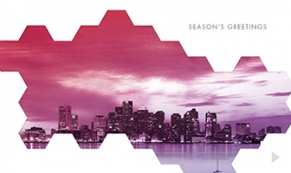 city mosaic holiday e-card thumbnail