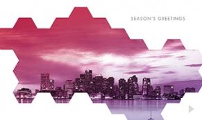 city mosaic holiday e-card thumbnail