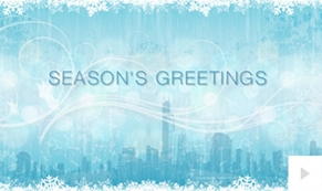 winter stroll holiday e-card thumbnail