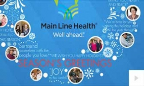Main Line company holiday e-card thumbnail