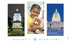 Cal Hospital company holiday e-card thumbnail