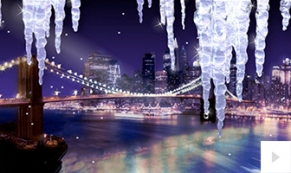City Icicles holiday ecard thumbnail