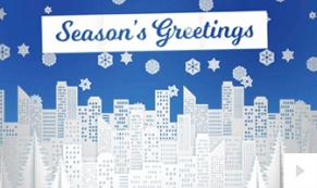 Paper City eholiday e-card thumbnail