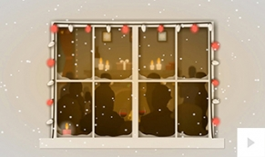 Holiday Party White Wall holiday ecard thumbnail