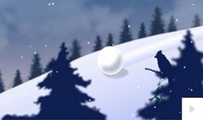 Snowball ecard