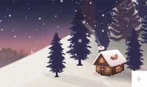 Cabin in the Wood ecard