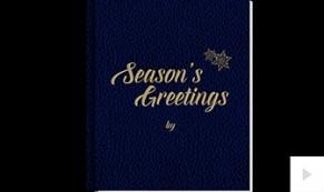 Holiday Book ecard
