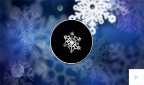 Snowflake Movement ecard
