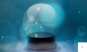 Snow Globe Wishes Light ecard