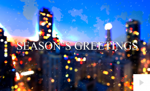 Night Lights Alley Christmas e-card thumbnail
