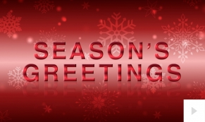 Colorful Sentiments Christmas Holiday e-card Thumbnail