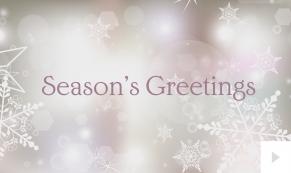 snowflake light Christmas holiday ecard thumbnail