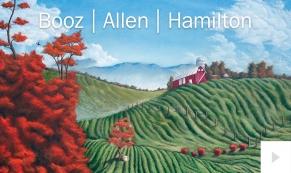 Booz Allen Hamilton Company Christmas e-card thumbnail