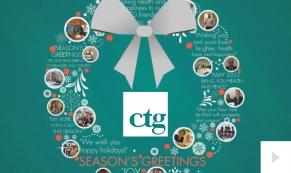 CTG Company Christmas Holiday e-card thumbnail