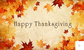 thanksgiving wishes holiday e-card thumbnail