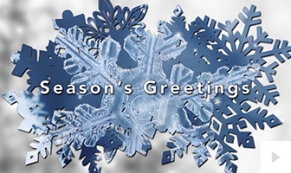 Snowflake Reveal winter christmas e-card thumbnail