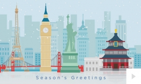 landmark holiday Christmas e-card thumbnail