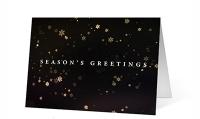 Snowflake Revolution Christmas Greeting Card