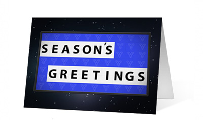 Holiday Game Christmas Greeting Card