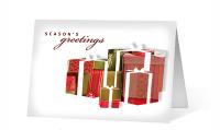 Seasonal Gift Pause Christmas Greeting Card