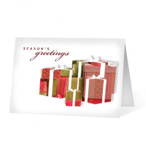 Seasonal Pause for Gift Christmas Greeting Card