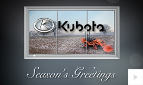 Kubota Company Holiday e-card thumbnail