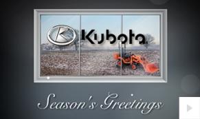 Kubota Company Holiday e-card thumbnail